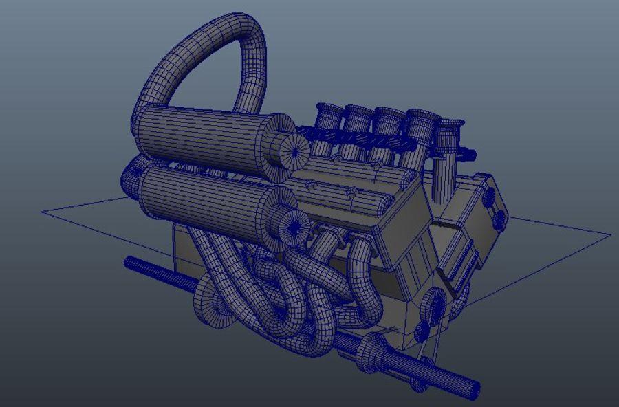 Silnik Ariel Atom V12 royalty-free 3d model - Preview no. 5