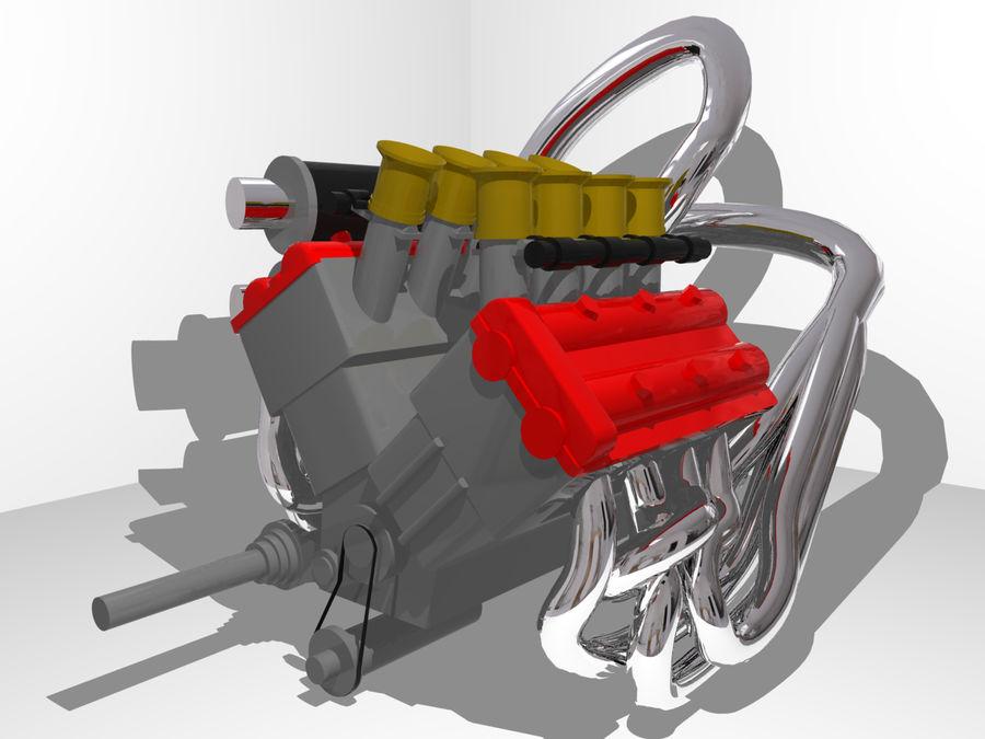 Silnik Ariel Atom V12 royalty-free 3d model - Preview no. 1