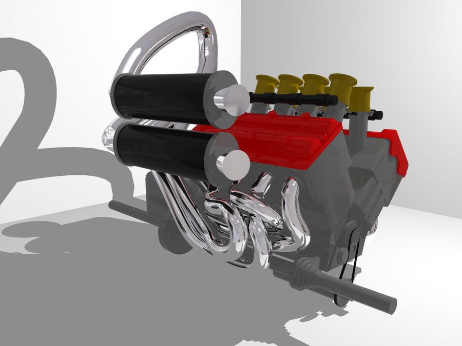Silnik Ariel Atom V12 royalty-free 3d model - Preview no. 2