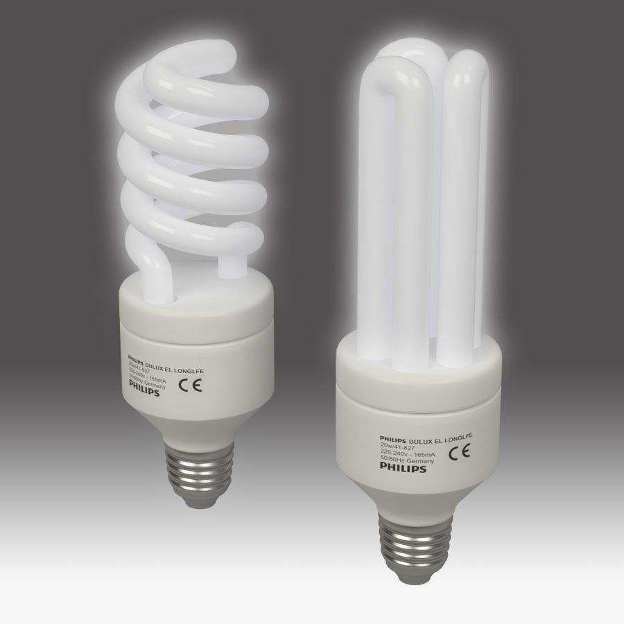 Lightbulb royalty-free 3d model - Preview no. 3