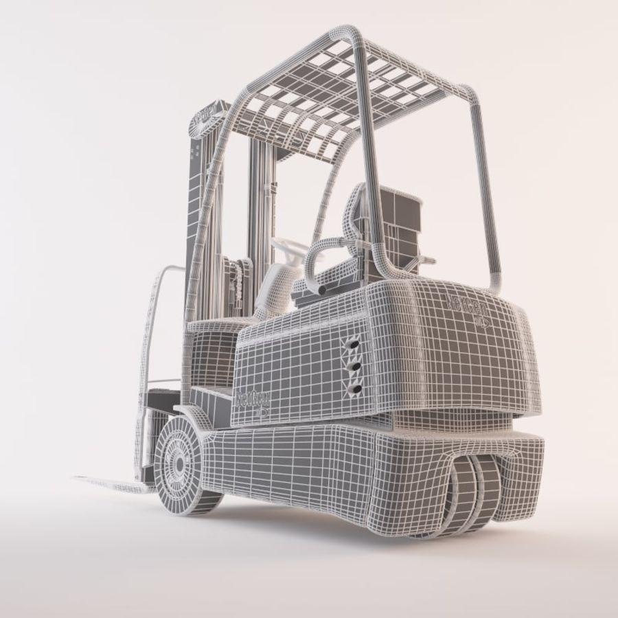 gaffeltruck royalty-free 3d model - Preview no. 2