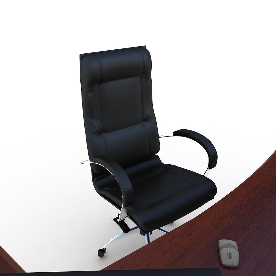 Muebles de oficina royalty-free modelo 3d - Preview no. 4