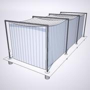Cage De Frappe 3d model