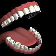 Mouth Set 3d model