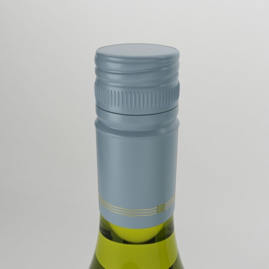 Wine oyster bay white royalty-free 3d model - Preview no. 2