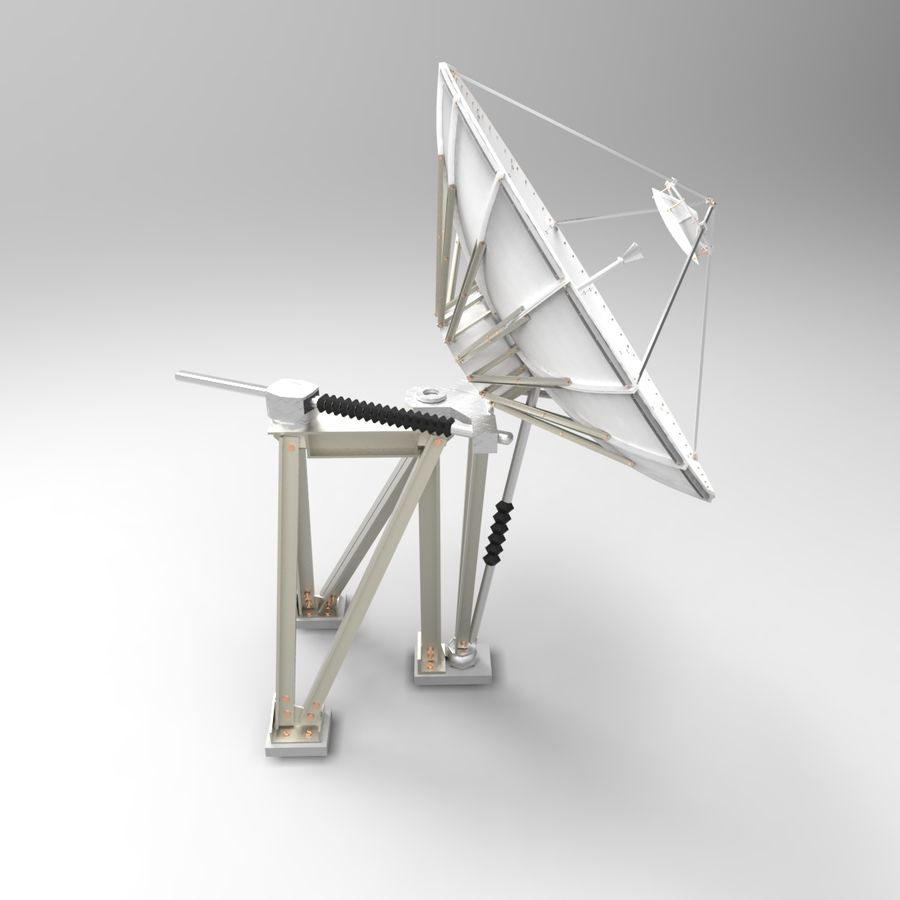 Antenna parabolica royalty-free 3d model - Preview no. 2