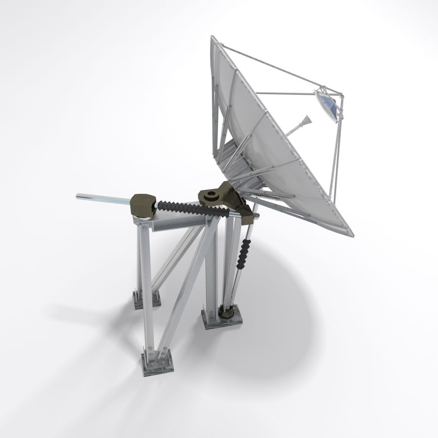 Antenna parabolica royalty-free 3d model - Preview no. 8