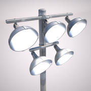 Sport Arena Stadium Light 3d model