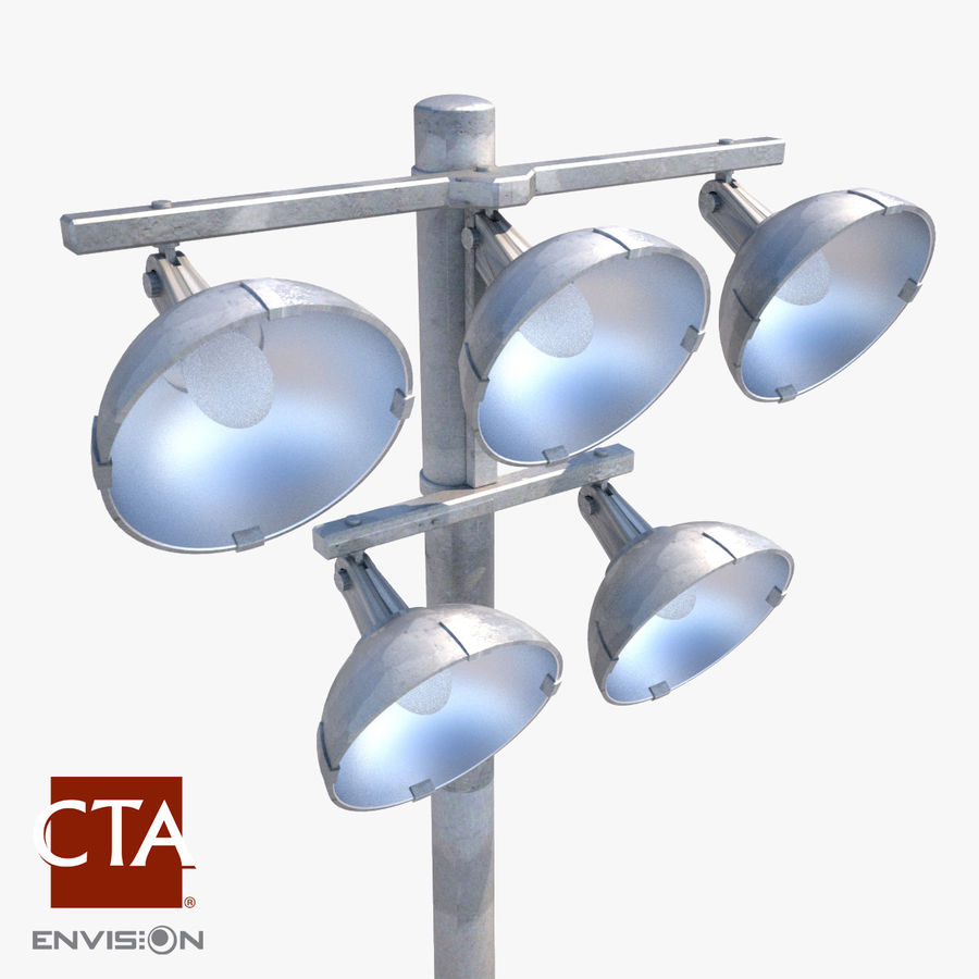Sport Arena Stadium Light 3D Model $15