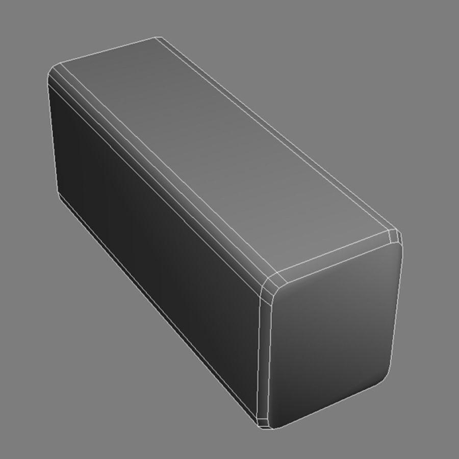 żywopłot royalty-free 3d model - Preview no. 8