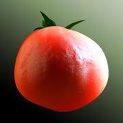Tomate Détaillée 3d model