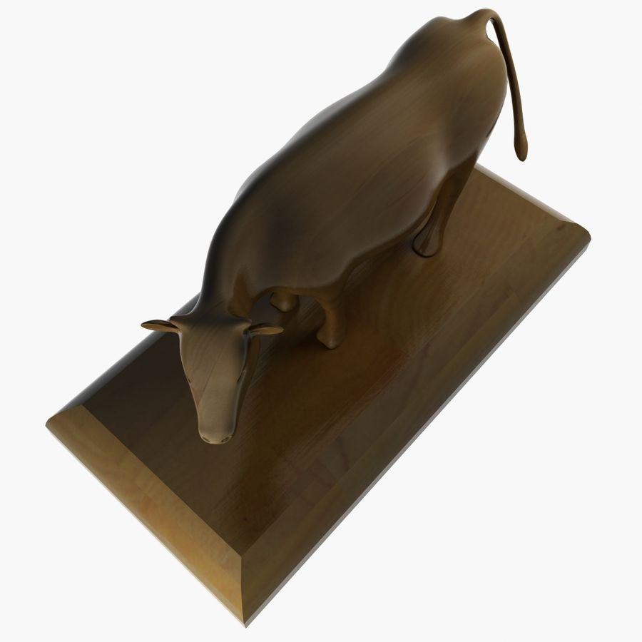 Ornament Krowa royalty-free 3d model - Preview no. 7