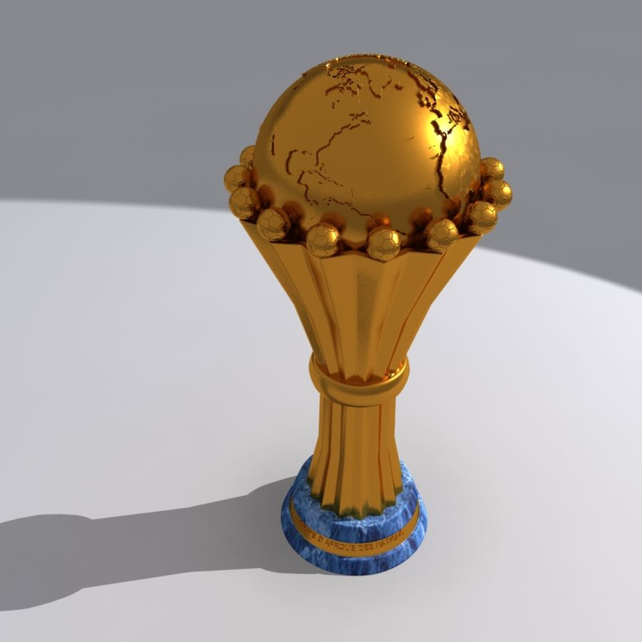 African Cup of Nations royalty-free 3d model - Preview no. 1
