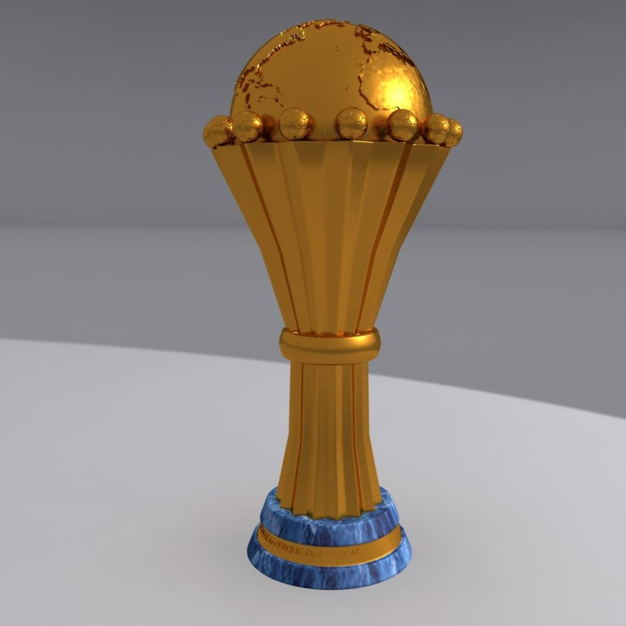 African Cup of Nations royalty-free 3d model - Preview no. 2