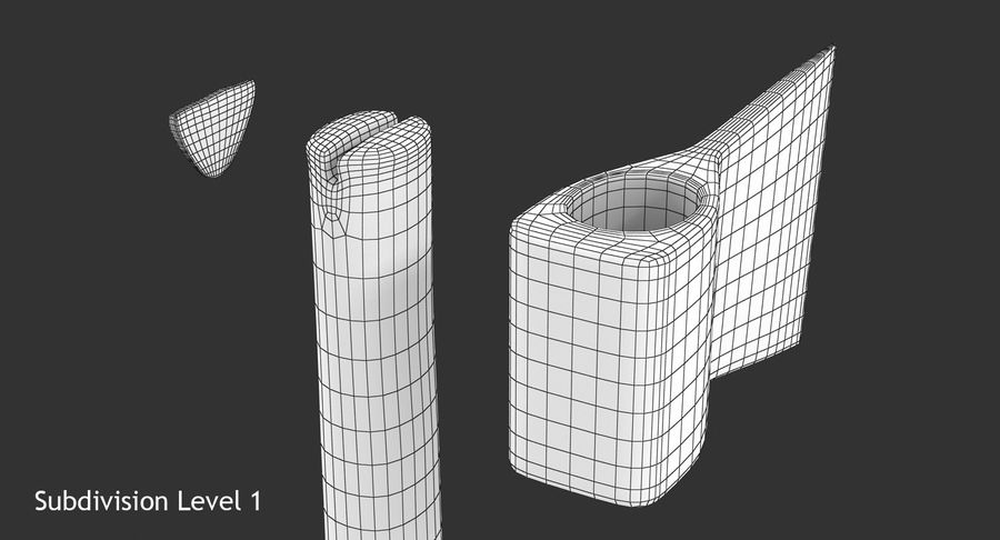 Axe royalty-free 3d model - Preview no. 15