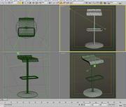 cadeira 8 bar 3d model