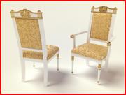 Lüks sandalye 3d model