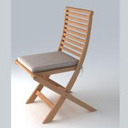 정원 의자 25 3d model
