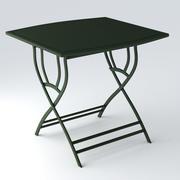 정원 테이블 2 3d model