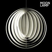 Vitra Moon-lamp 3d model