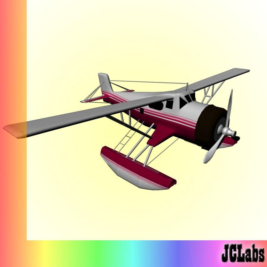 Seaplane royalty-free 3d model - Preview no. 1