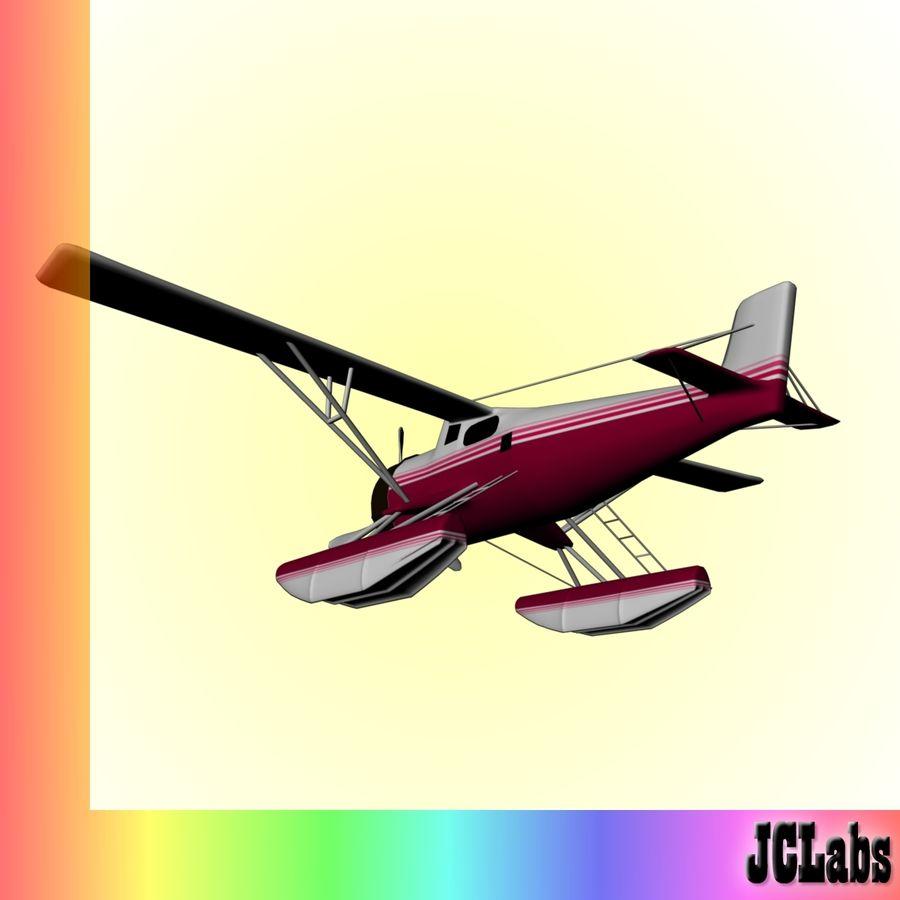 Seaplane royalty-free 3d model - Preview no. 5