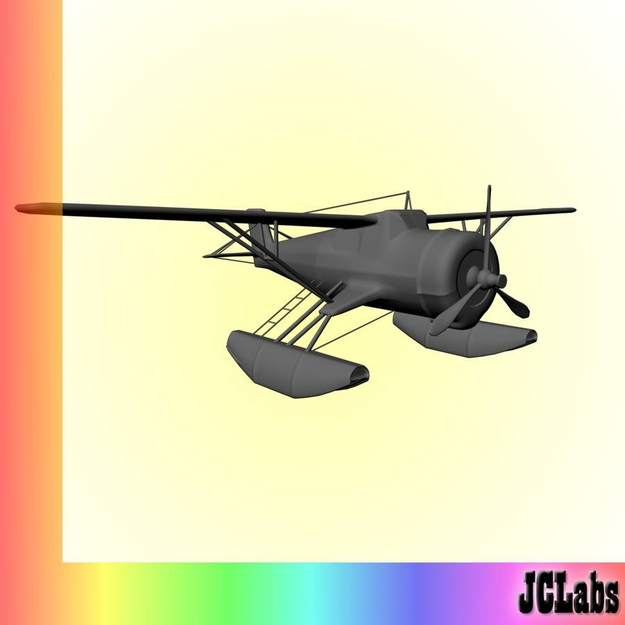 Seaplane royalty-free 3d model - Preview no. 6