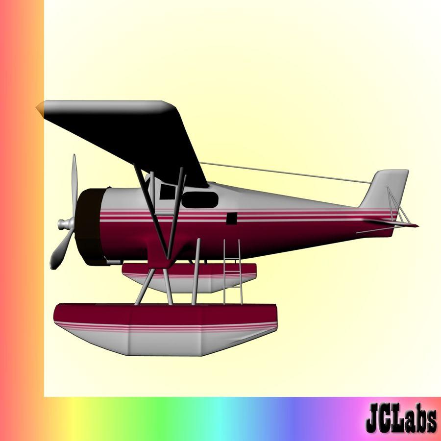 Seaplane royalty-free 3d model - Preview no. 3