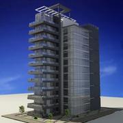 Bâtiment résidentiel 3d model