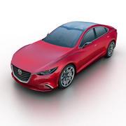 Mazda Takeri Concept 2011 3d model