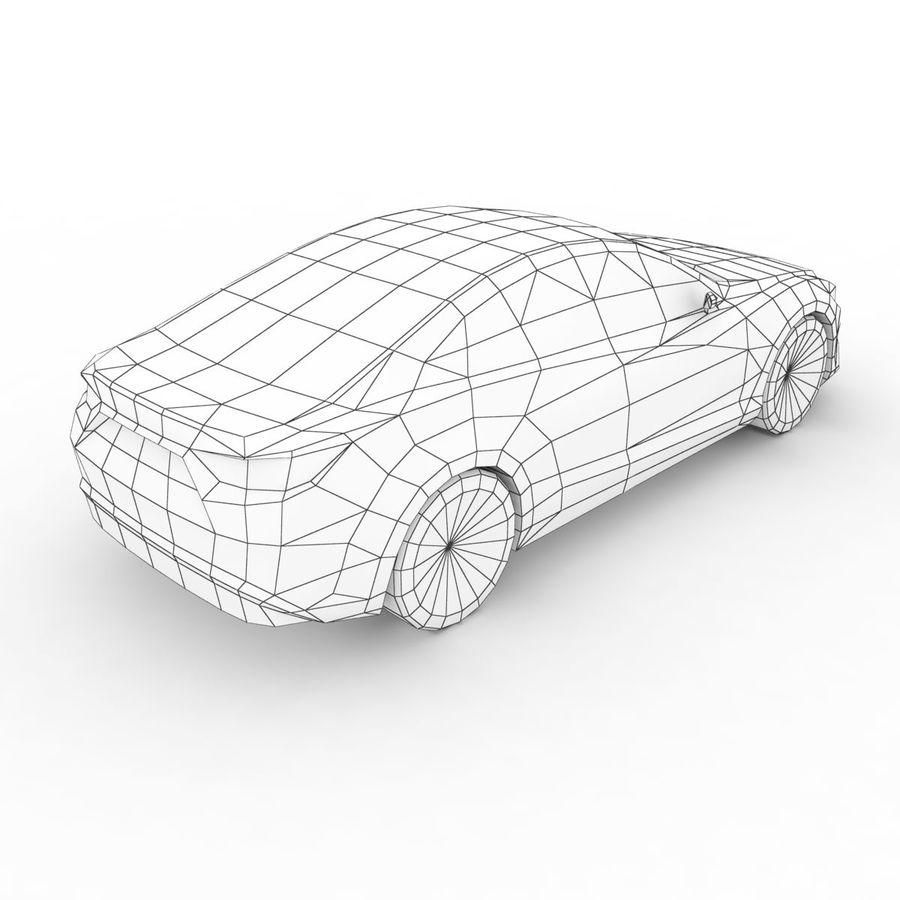 马自达Takeri概念2011年 royalty-free 3d model - Preview no. 7
