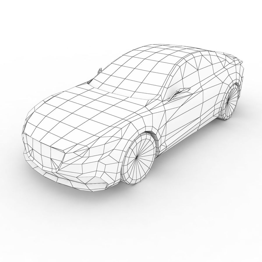 马自达Takeri概念2011年 royalty-free 3d model - Preview no. 6
