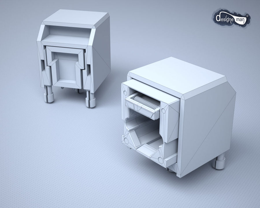 Toslink Port royalty-free 3d model - Preview no. 14