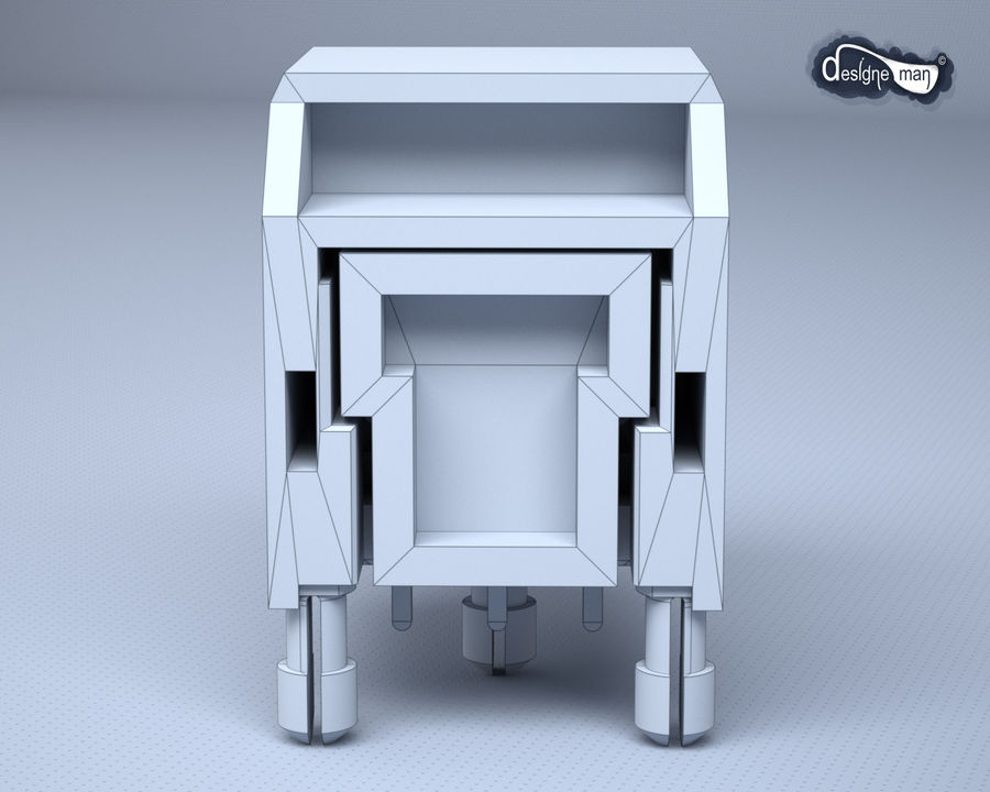 Toslink Port royalty-free 3d model - Preview no. 21