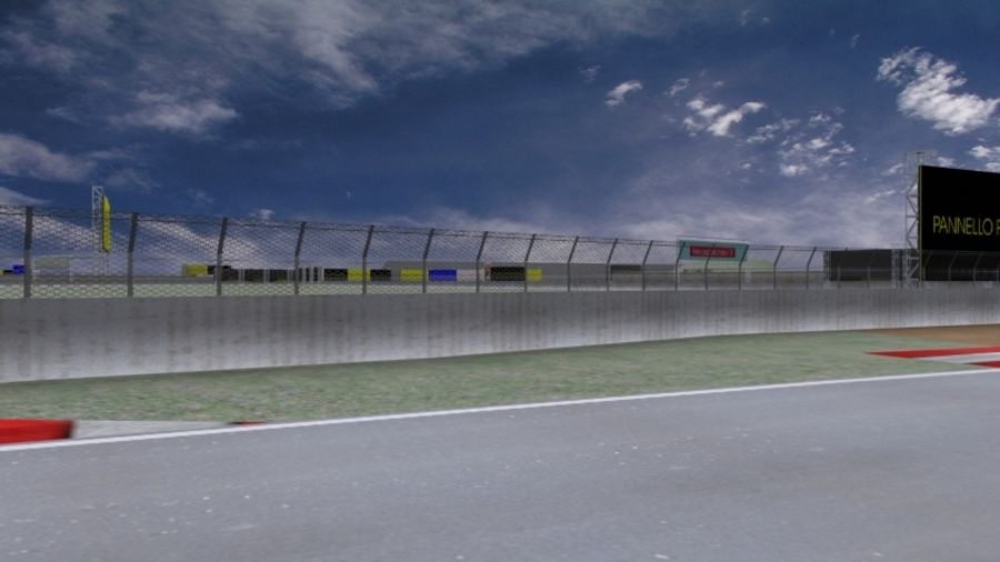 fantasy racing track royalty-free 3d model - Preview no. 3