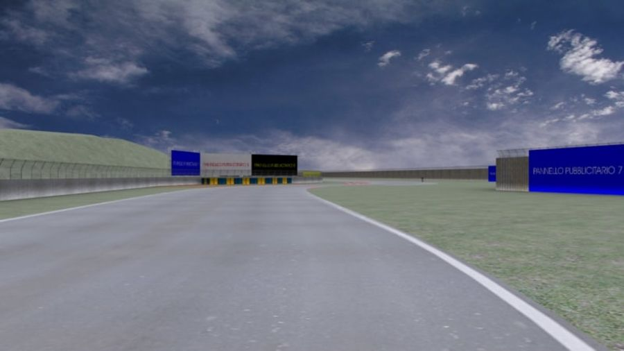 fantasy racing track royalty-free 3d model - Preview no. 6