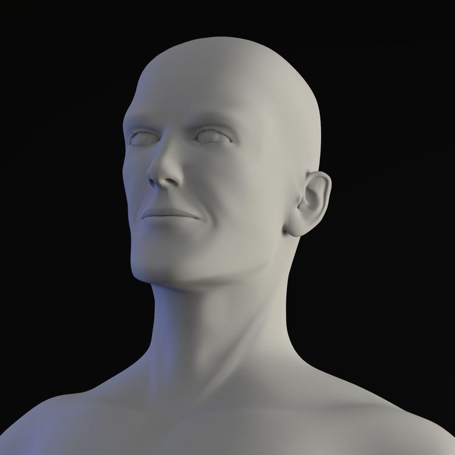 personaggio maschile royalty-free 3d model - Preview no. 12
