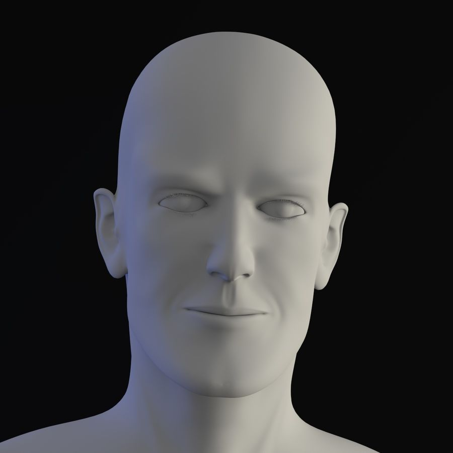 personaggio maschile royalty-free 3d model - Preview no. 9