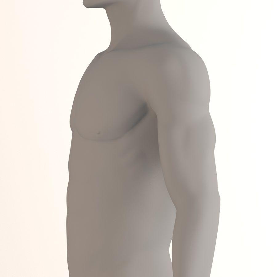 personaggio maschile royalty-free 3d model - Preview no. 8