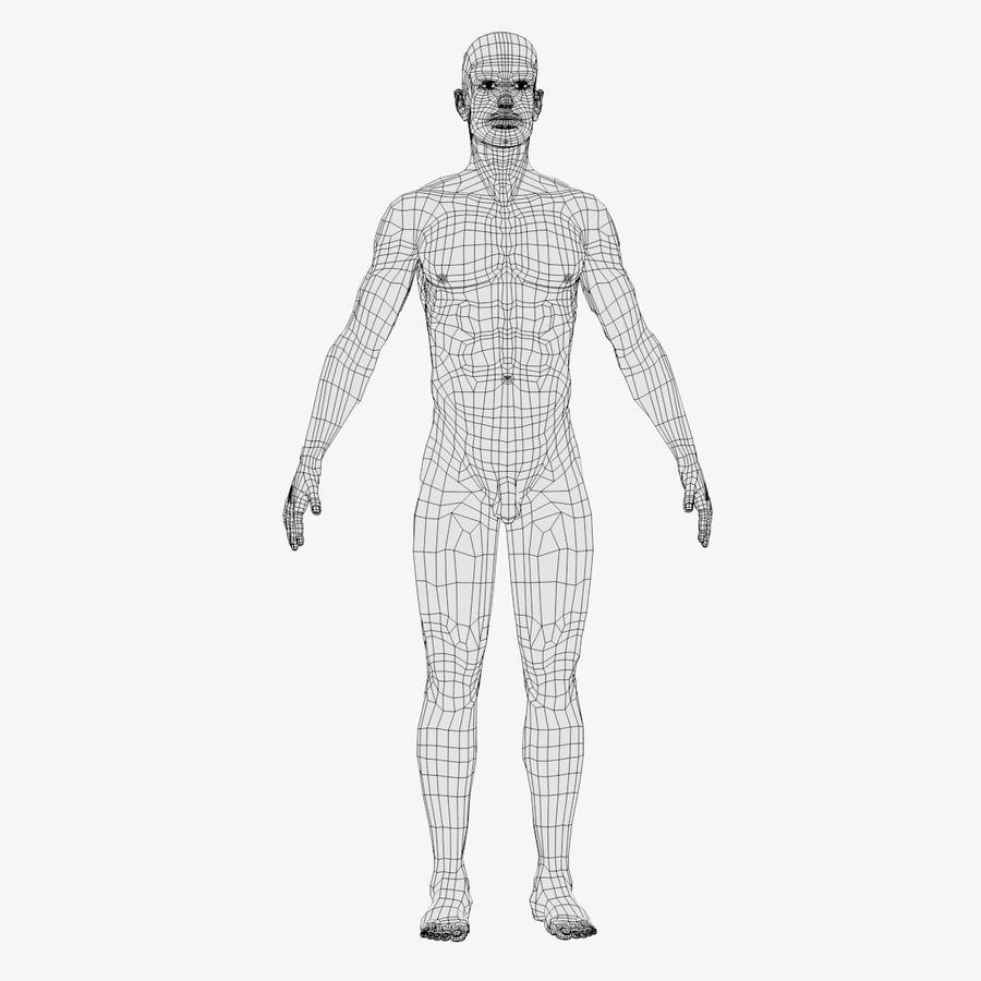 personaggio maschile royalty-free 3d model - Preview no. 13