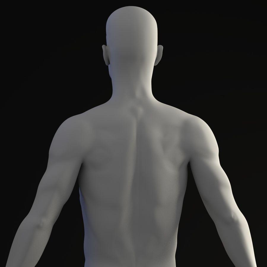 personaggio maschile royalty-free 3d model - Preview no. 5