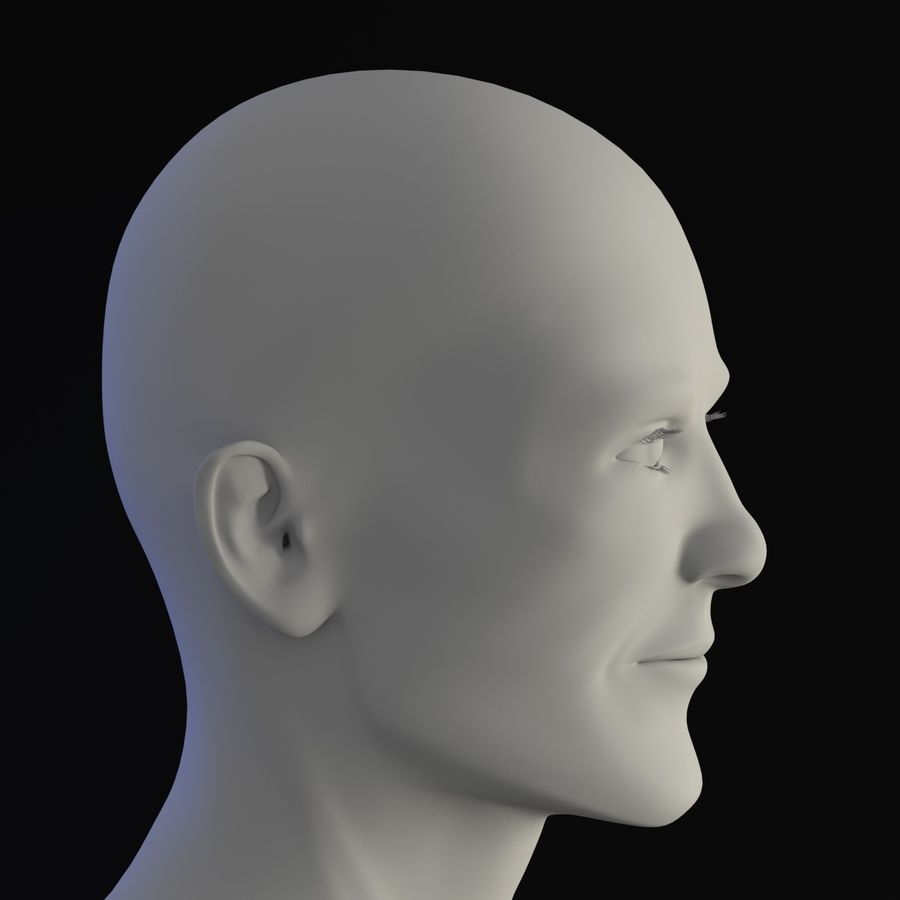 personaggio maschile royalty-free 3d model - Preview no. 11