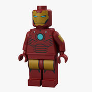 Lego Iron Man 3d model