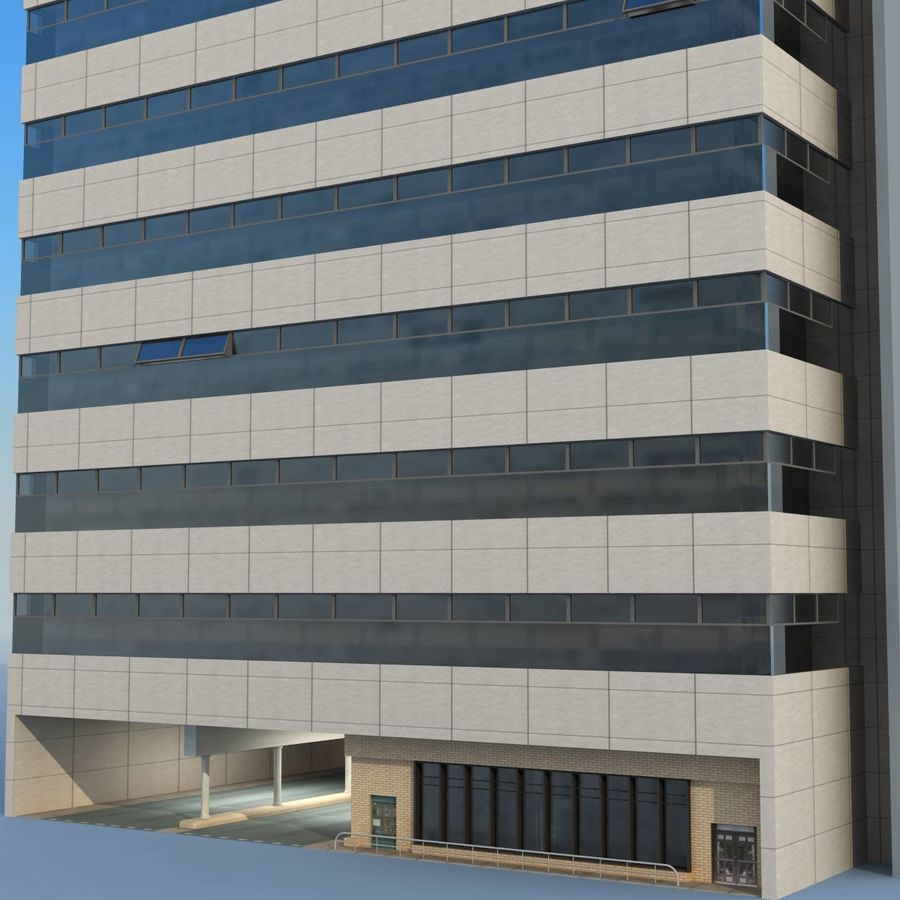 Building Office royalty-free 3d model - Preview no. 5