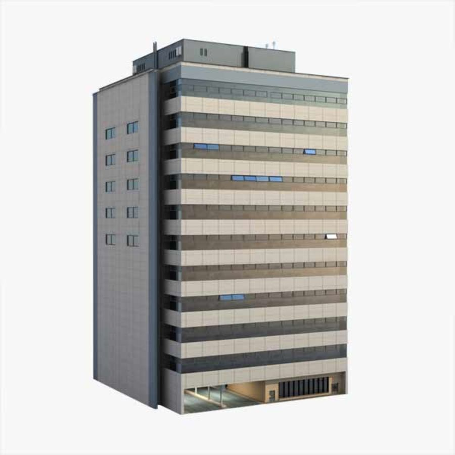 Building Office royalty-free 3d model - Preview no. 1