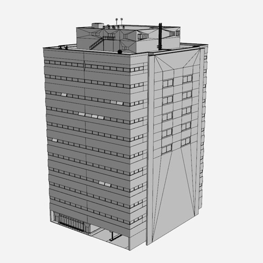 Building Office royalty-free 3d model - Preview no. 10
