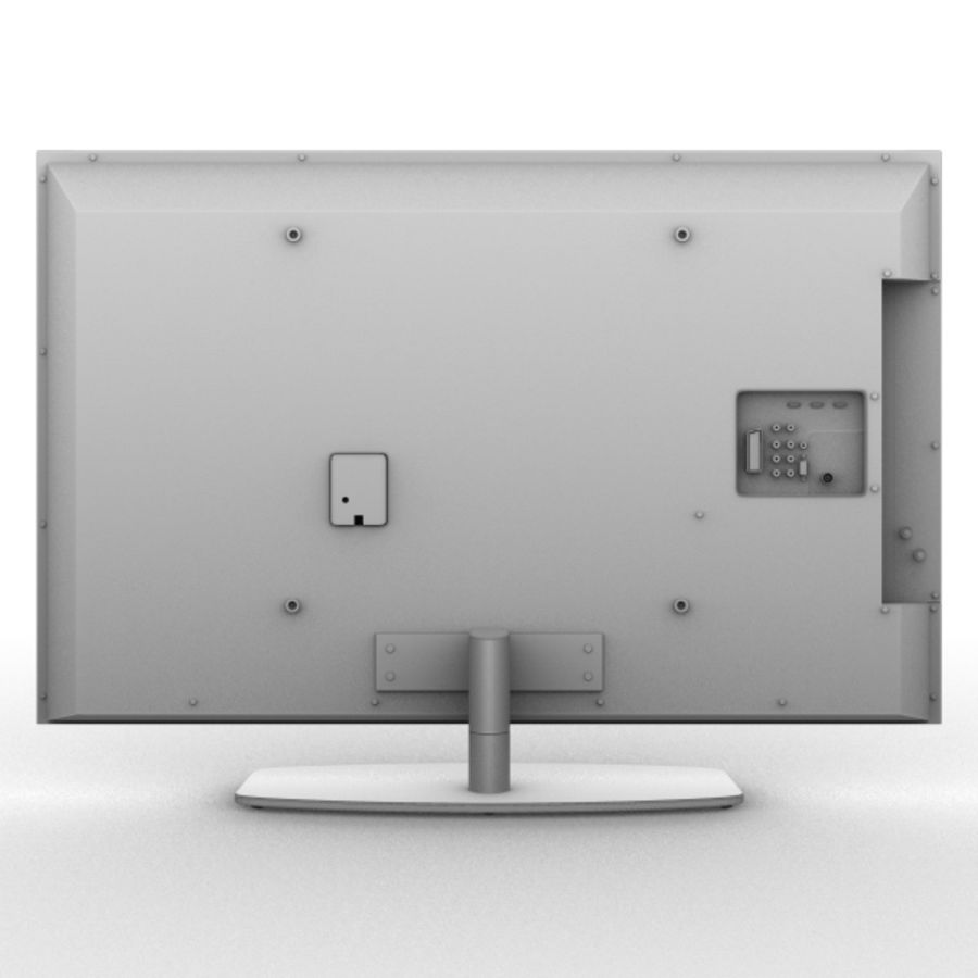 Lcd TV royalty-free 3d model - Preview no. 4