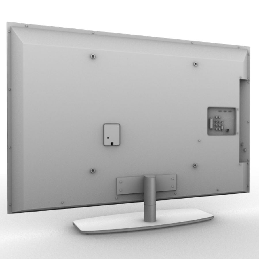Lcd TV royalty-free 3d model - Preview no. 2