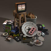 Household Item Collection 3d model