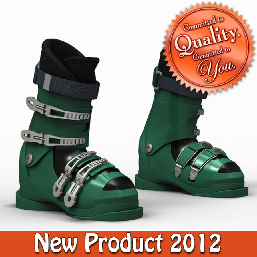 Down Hill Ski Boots 3D Model $45 -  obj  max  ma  fbx  3ds
